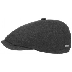Bekovka 6-Panel Cap od Stetson - Virgin Wool/Cashmere