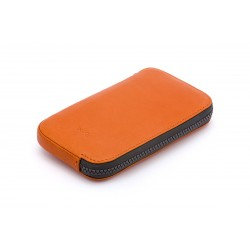 Kožené pouzdro All-Conditions Phone Pocket Standard na iPhone 7 - Burnt Orange